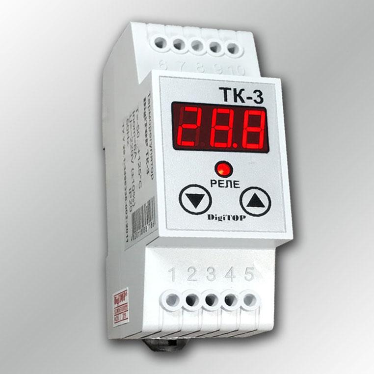 Цифровой терморегулятор ТК-3